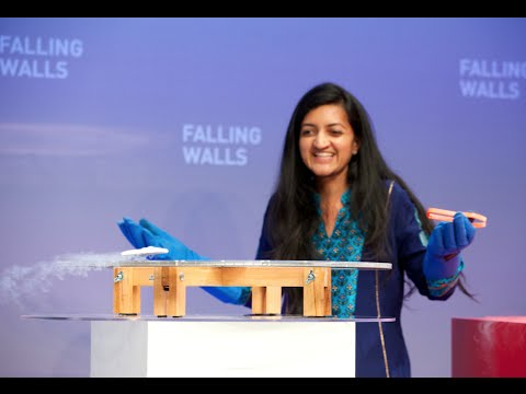 Suchitra Sebastian – Breaking the Wall of Energy Loss @Falling Walls 2014