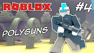GETTING THE ROBOPUNK ARMOR | ROBLOX Polyguns #4