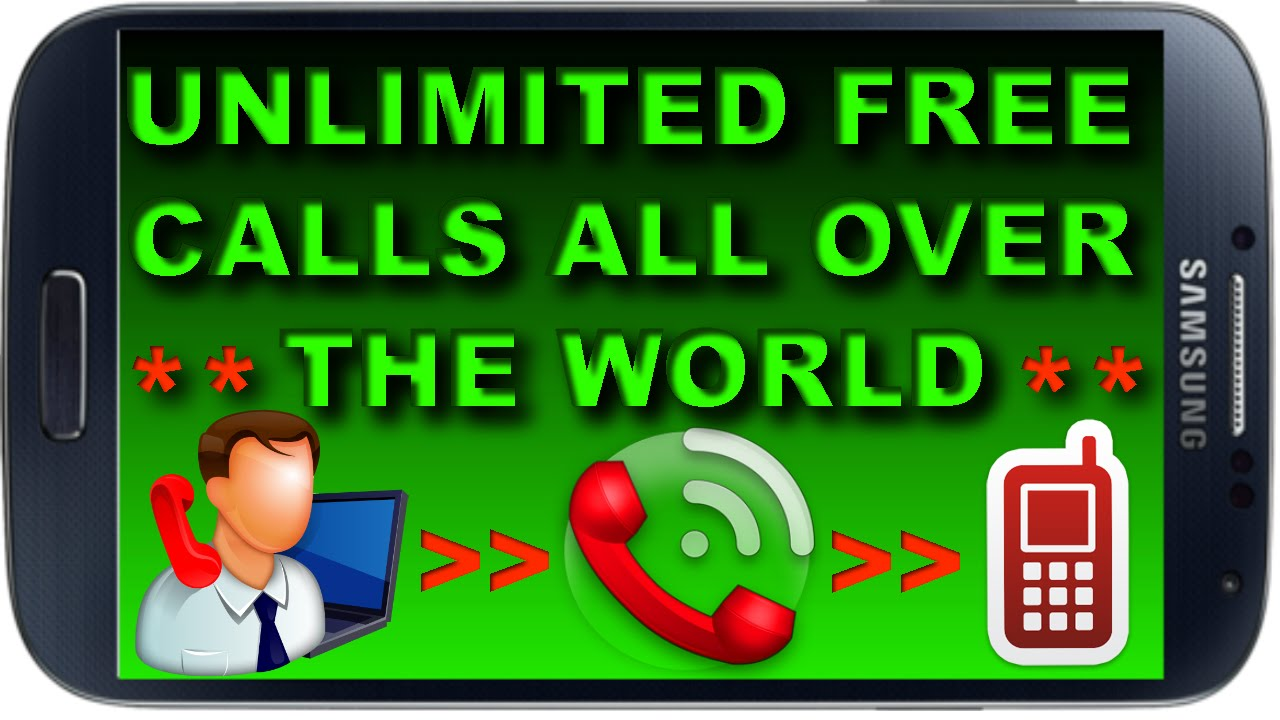 How to Make Unlimited FREE Calls from Internet to any ...
