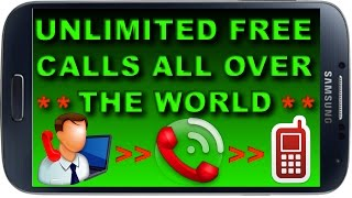 How to Make Unlimited FREE Calls from Internet to any Mobile or Landline All Over The Global World