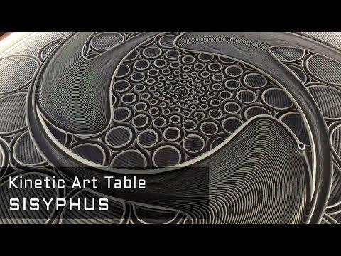 SISYPHUS - The Kinetic Art Table / Kickstarter