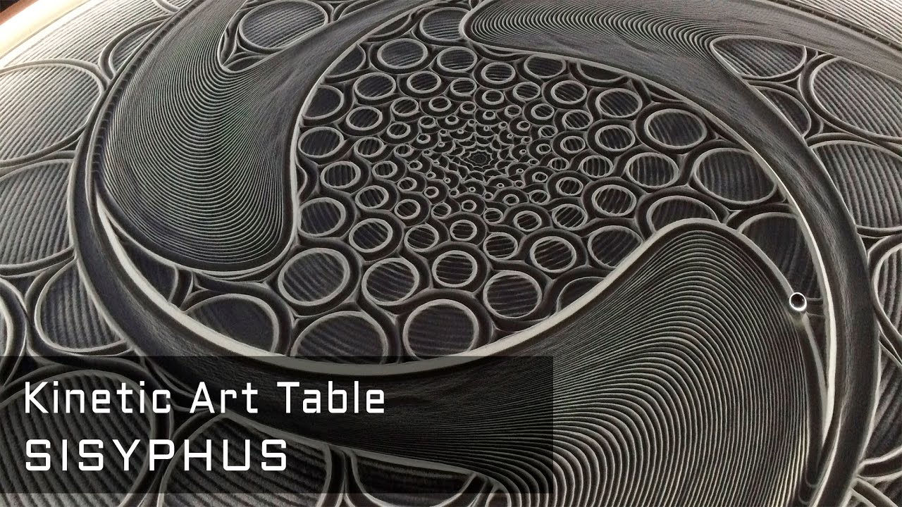 Sisyphus The Kinetic Art Table Kickstarter Youtube