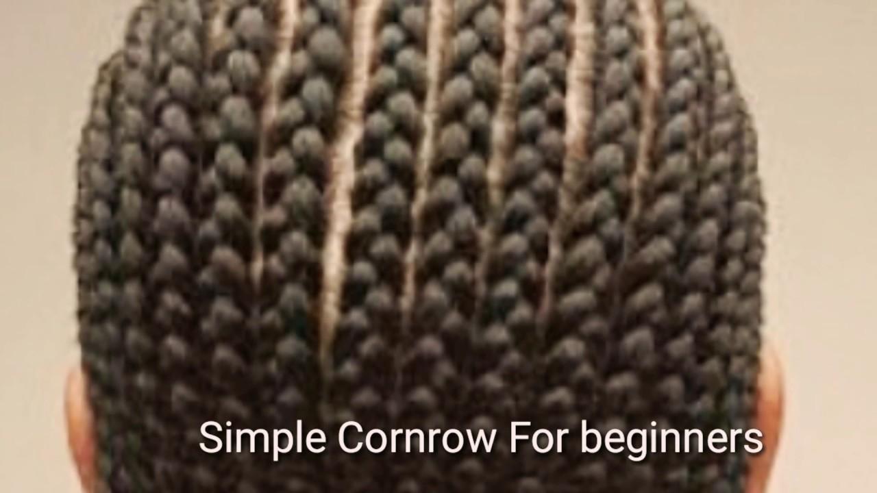 cornrow beginners