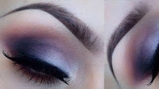 Valentines day makeup purple smokey eye l tarte cc matte palette Thumbnail
