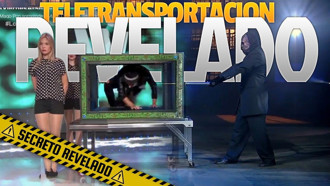 El Mago Pop  teletransportándose a TOKIO TRUCO REVELADO por el Mago Enmascarado
