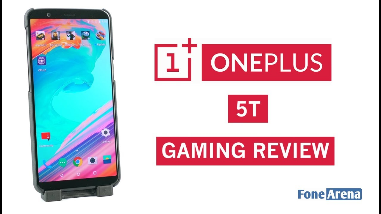 OnePlus 5T Gaming Review - With Temperature and Battery Check
