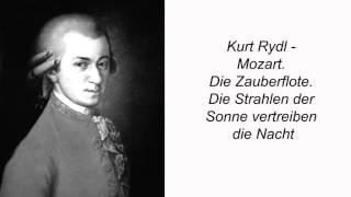 Kurt Rydl. Mozart. Die Zauberflote. Die Strahlen der Sonne vertreiben die Nacht