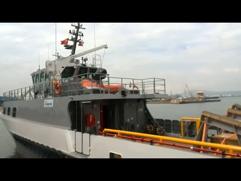 Nigeria Security vessel at Strategicmarine Vietnam
