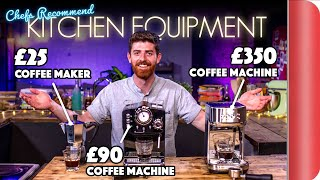 £25 Coffee Maker OR £350 Coffee Machine? | Chefs Recommend Kitchen Equipment Vol.3