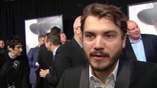 """Lone Survivor: Emile Hirsch """"Danny Dietz"""" NYC Premiere Interview"""