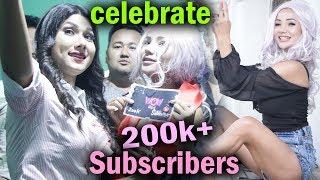 २ लाख पुग्दा सोनिकालाई यस्तोसम्म कमेन्ट-भिडियोमा हेर्नुस कति रमाईलो| Wow 200K+ Subscribers