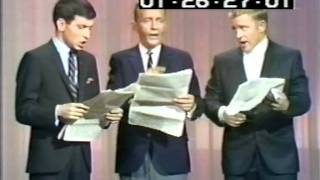 "Bing Crosby, Gary, & Frank Jr. - ""Fugue For Tinhorns"""