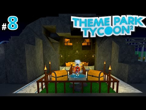 Theme Park Tycoon! Ep. 8: Building a Cave!! | Roblox