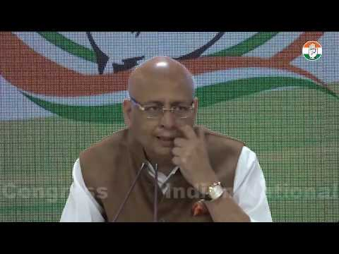 LIVE: AICC Press Briefing By Abhishek Manu Singhvi at Congress HQ