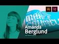 Graphic Design - Amanda Berglund designs magazine cover (part 2)