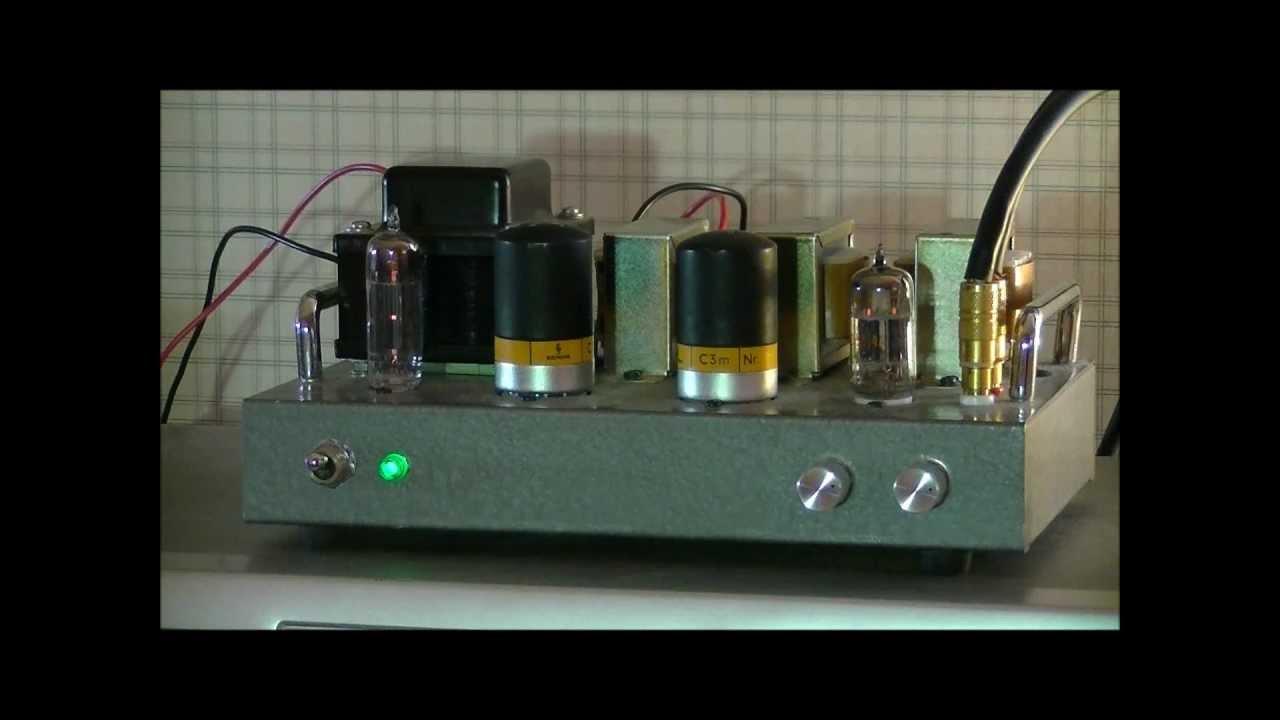 Siemens C3m Triode Connection Amplifier