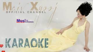 Instrumental Karaoke - Txhob Tos Kuv Rau July 4th with Lyrics by Maiv Xyooj (New Karaoke Version)