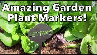 Amazing Garden Plant Markers!