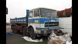 Un bel camion italiano  anni settanta , conservato che aspetta un proprietario FIAT 180 NC