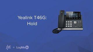 Yealink T46G: Hold