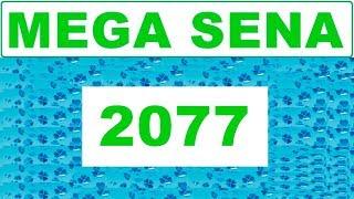 Mega sena 2077 - Resultado do dia (12/09/2018)