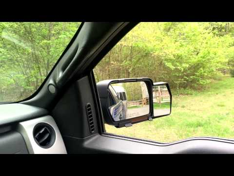 Product Review:  K-Source Snap-On Towing Mirrors