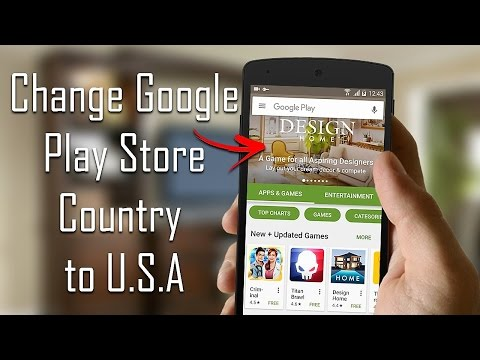 How to Change Google Play Store Country to U.S.A. (New Method 2017) | All Android Versions