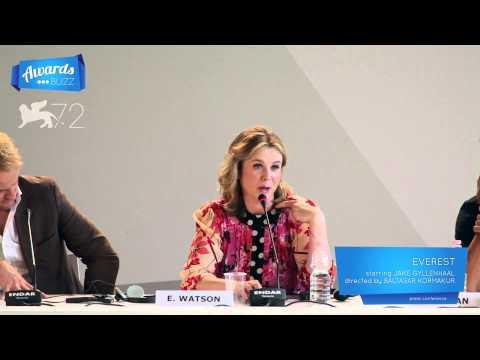 Emily Watson Everest Press Conference (2015 Venice International Film Festival)