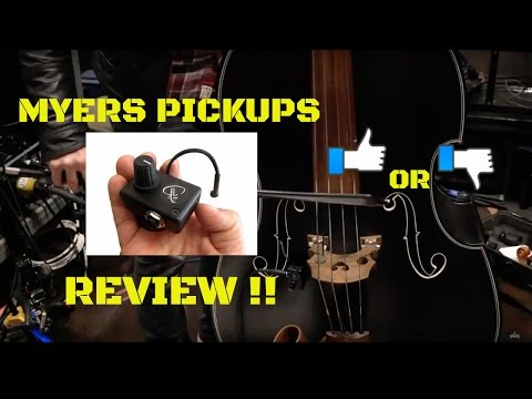 Myers Pickups Review On Violin And Bass