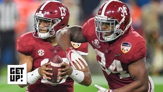 Alabama RBs will have big impact in CFP National Championship vs. Clemson - David Pollack | Get Up!