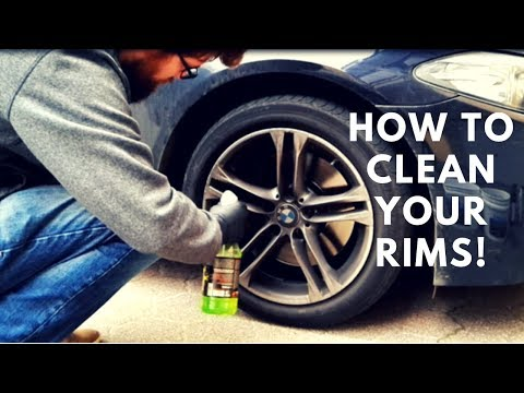 How to clean your Rims/Wheels - BMW 535xi | Zipper-Detailing