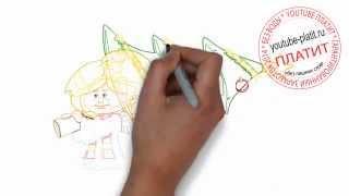 Как нарисовать снегурочку прущую домой елку(Как нарисовать картинку поэтапно карандашом за короткий промежуток времени. Видео рассказывает о том,..., 2014-07-02T17:19:10.000Z)