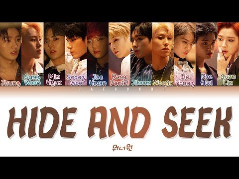 Free Download Wanna One (워너원) - 술래 (hide And Seek) (color Coded Lyrics Eng/rom/han/가사) Mp3 dan Mp4