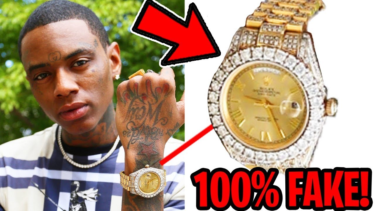 dce9f1f58 These Rappers Got Caught Fake Flexing (Soulja Boy