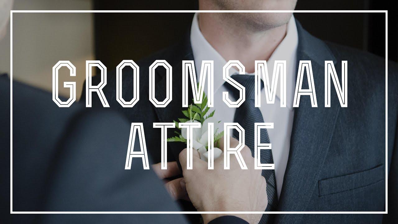 Groomsman Attire — Gentleman's Gazette