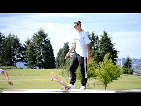 Skating in Seattle