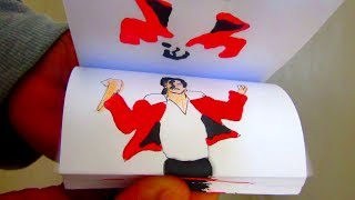 Michael Jackson DANCE flip book animation