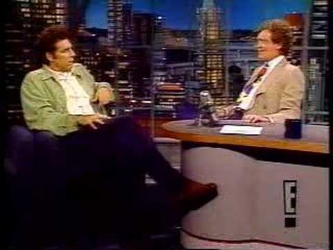 Michael Richards on Late Night with David Letterman (1991)