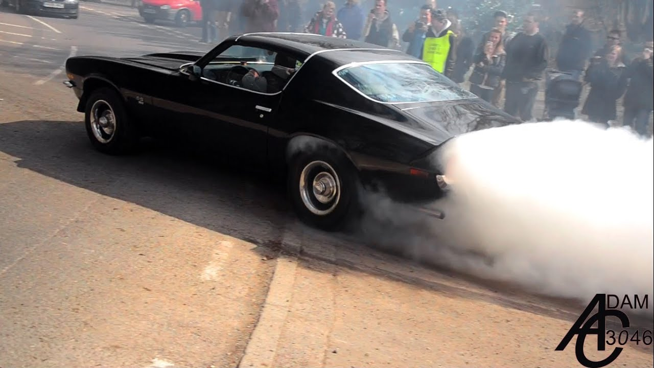 Burnouts, Wheelspins, Powerslides and Accelerations. EPIC compilation! [HD]