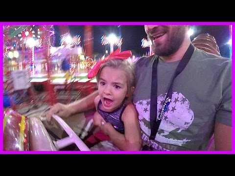 CHILD'S FIRST ROLLERCOASTER!!