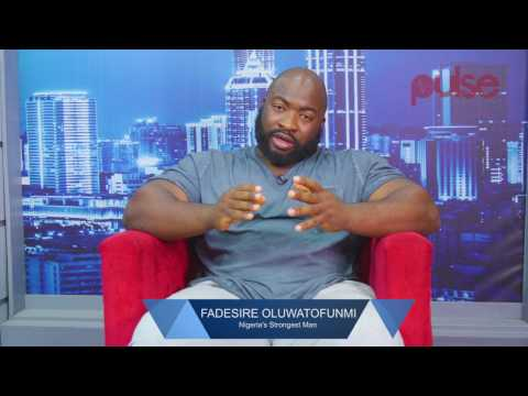Excusive Chat with Nigeria's Strongest Man Fadesire Oluwatofunmi | PulseTV