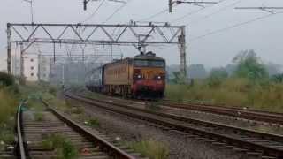 KALYAN WCAM-3 MUMBAI CST-HAZUR SAHIB NANDED TAPOVAN EXPRESS INDIAN RAILWAY