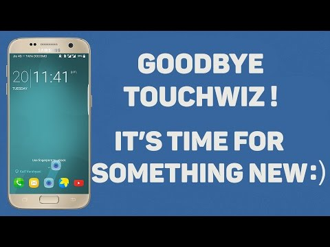 Goodbye Touchwiz : Customise like a beast with this new UI (NO ROOT)