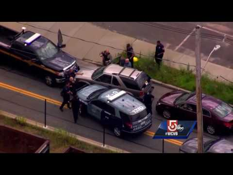 Sky5 video: End of police chase in New Bedford