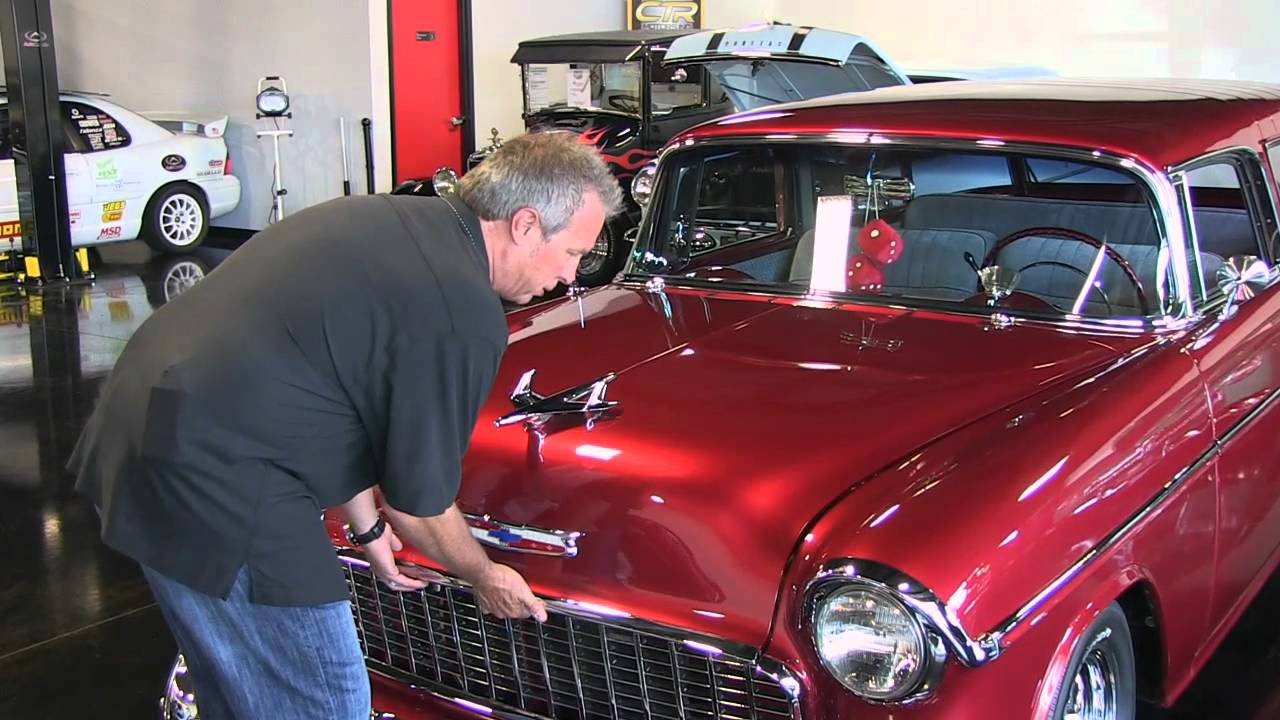 1955 CHEVROLET NOMAD BELAIR WAGON FOR SALE - YouTube