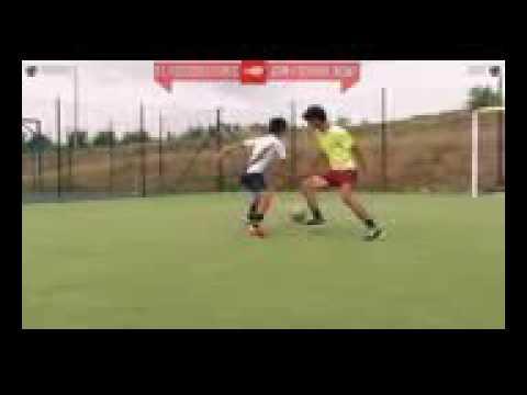 Tervideo com تعلم مهارة عبور لاعب في 5 دقائق   تعليم مهارات كرة القدم
