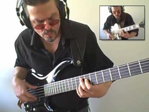 """Add some Powder"" on a Cort Curbow 52  5 string bass by Eric Czar"
