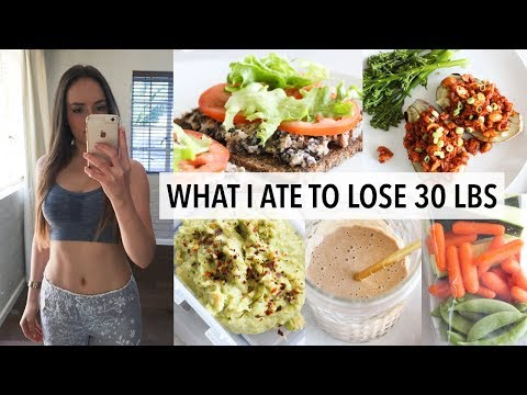 WHAT I ATE TO LOSE 30 LBS IN 12 WEEKS
