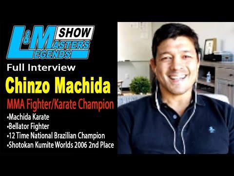 Bellator MMA Fighter & Karate Master Chinzo Machida Interview