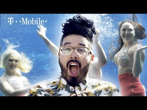 Curly Finds a Mermaid Town // Presented by BuzzFeed & T Mobile